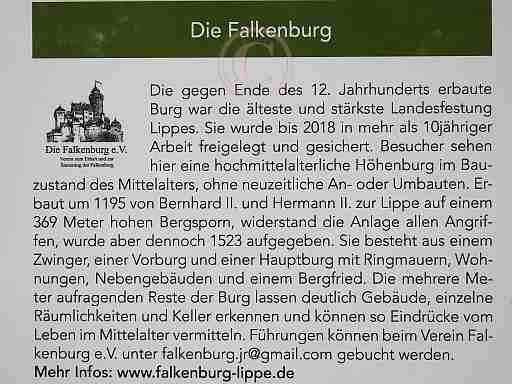 002-Historischer Hinweis Falkenburg