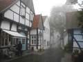 Tecklenburg-Altstadt im Nebel