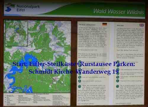 0069-Eifeler-Steilküste+Rurtalsperre 19-Start: Schmidt Kirche