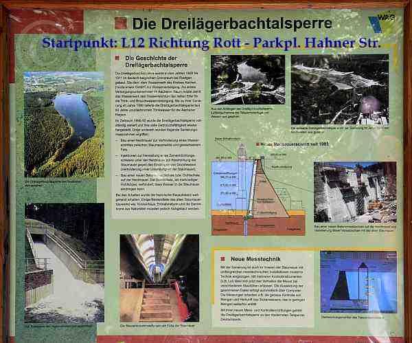 0144-Dreilägertalsperre-A2+Stuffelt Route Start: L12 Rott-P-Hahner Str.